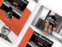 JBL Competition Website