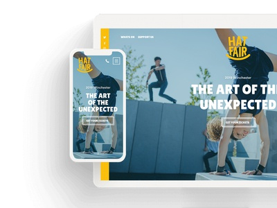 Hair Fair website redesign