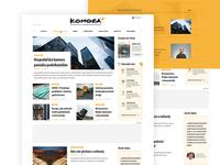 News Portal for Czech Chamber of Commerce website design web design website webdesign web ux ui design