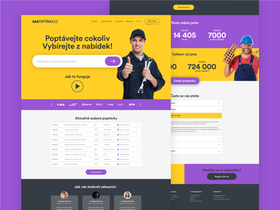 AAAPoptavka website web design webdesign ux ui