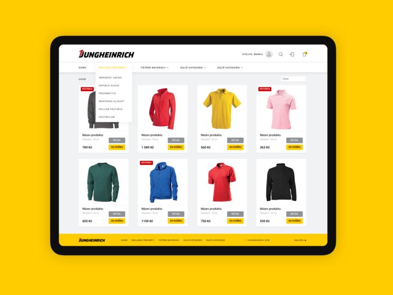 Jungheinrich e-shop