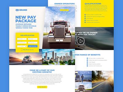 Trucks Services design website design web design website webdesign web ux ui