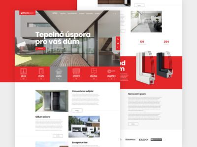 Therm website design web design website webdesign web ux design ui