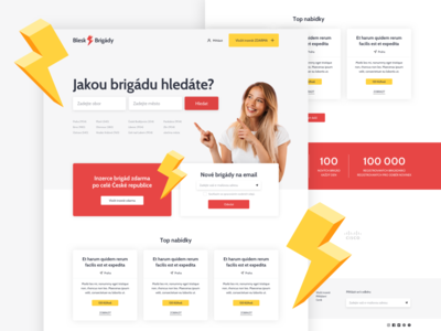 Job search website design web design website webdesign web ux ui design
