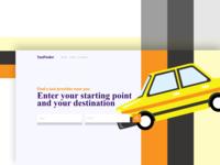 Taxifinder Webdesign