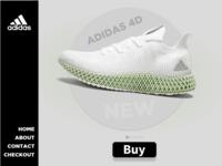 Adidas 4d Webdesign