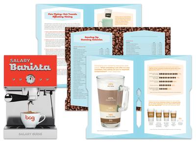 Salary Barista - Salary Guide Booklet Design