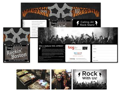 Rockin' Boston - Networking Event Design