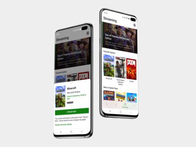 xCloud in Xbox app