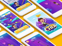 Mobile game for kids