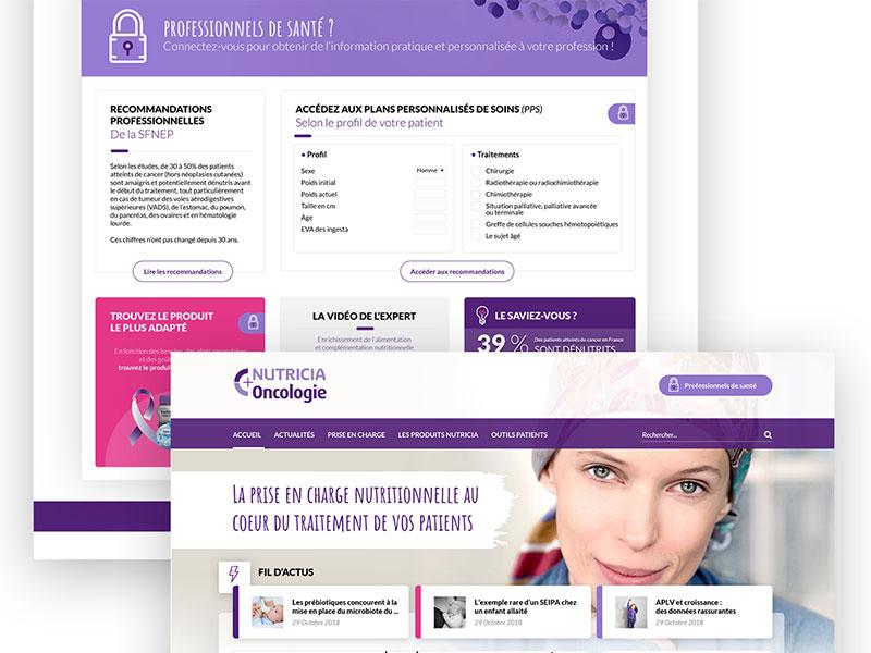 Health professional platform purple platform website healthcare ui health interface design visual  identity