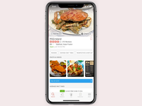 A solution concept for Yelp's long scrolling page efficiency user experience scrolling yelp app animation ux design visual