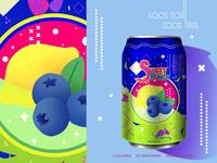 Sweet Punch - Lemon Blueberry