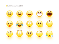 Bullet Message Emoji