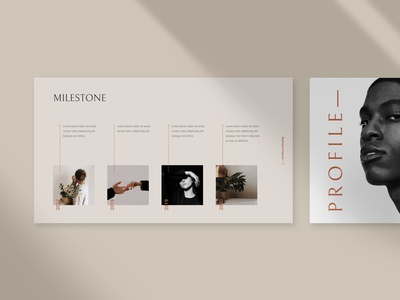 MOKKA - Business Proposal Template google slides layout design branding template proposal business keynote presentation powerpoint minimal pitch deck presentation design presentation template