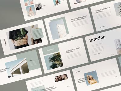 Minimal Presentation Layout