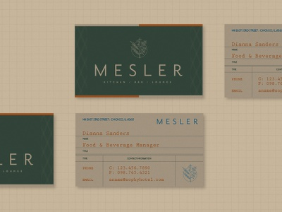 Smart Food plant science restaurant icon brand branding collateral business cards