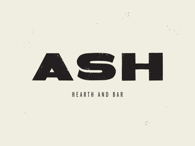 Hotter Ash design milwaukee typogaphy fire food branding logo handlettering brand restaurant