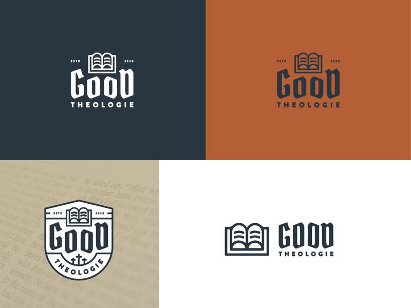 good theologie identity deck christianity christian theology ministry identity branding identity design idenity logo design logo