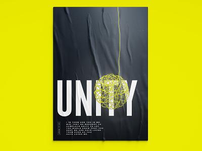 Unity Poster poster christian art christianity christian christian designer christian design graphic design