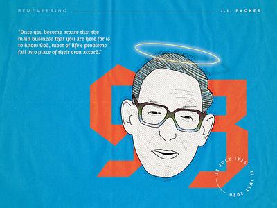 ji packer2 dribbble christianity christian design christianart poster quote illustration jipacker