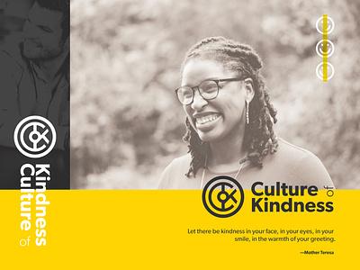 Culture of Kindness logo design logo branding christianity christian design christian designer graphic design