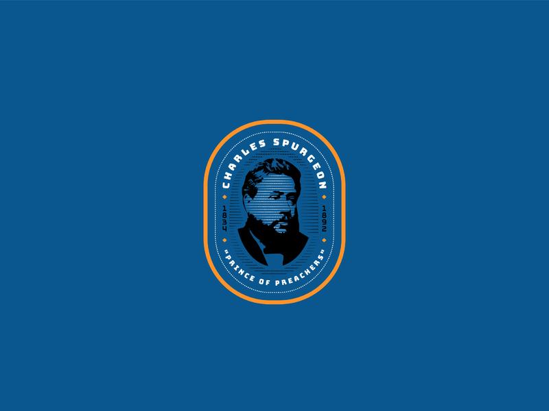 Charles Spurgeon illustration design graphic design