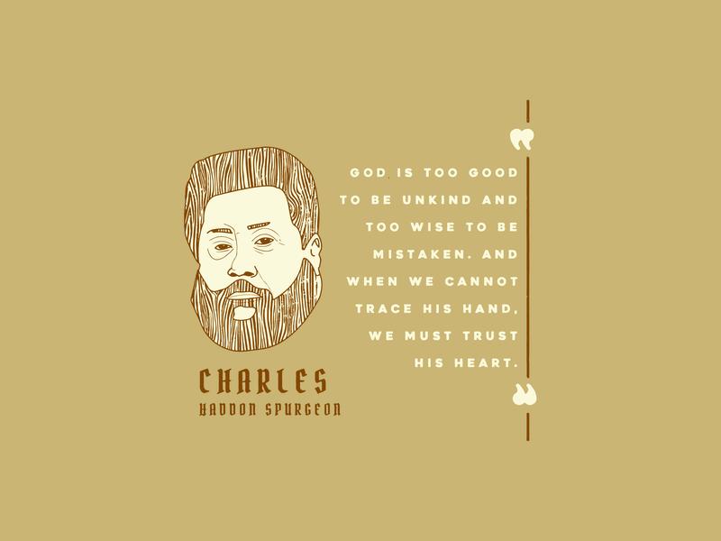 Spurgeon Quote theology christianity christian design christian illustration graphic design design