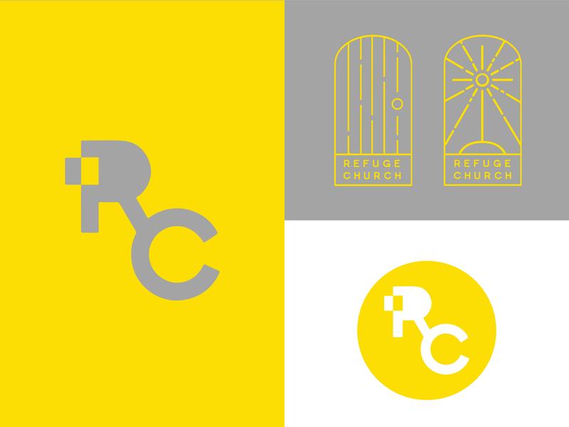 Refuge Church church plant church identity christian logo logo christian christian design graphic design design
