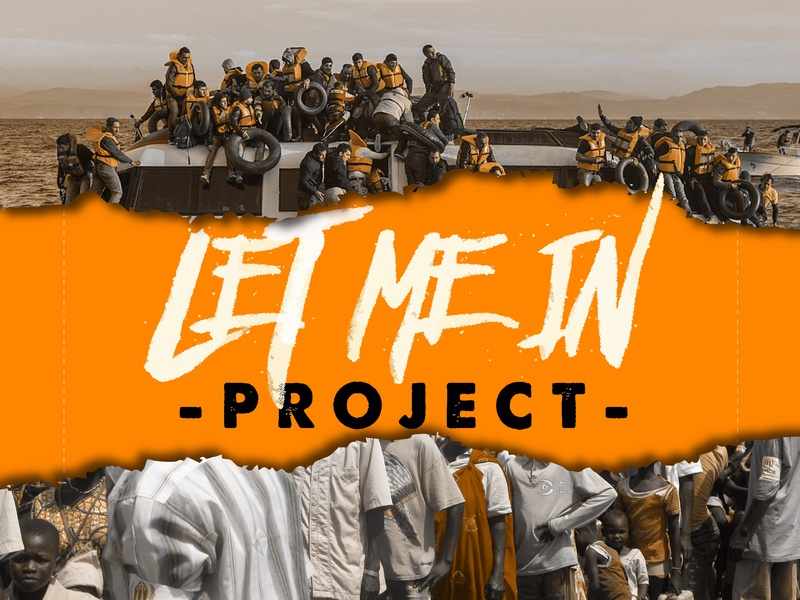 Let Me In Project ministry non-profit christian designer graphic design