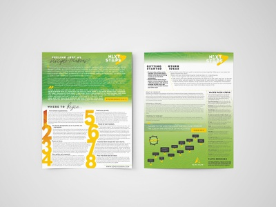 Next Steps Infographic infographic layout church logo church branding church marketing church design christianity christian christian designer christian design illustration graphic design