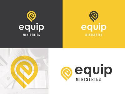 Equip Ministries christian designer christian design christian non-profit nonprofit ministry logo design logo brand identity identity design idenity branding and identity branding