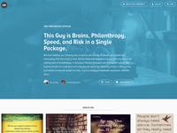 Story Homepage