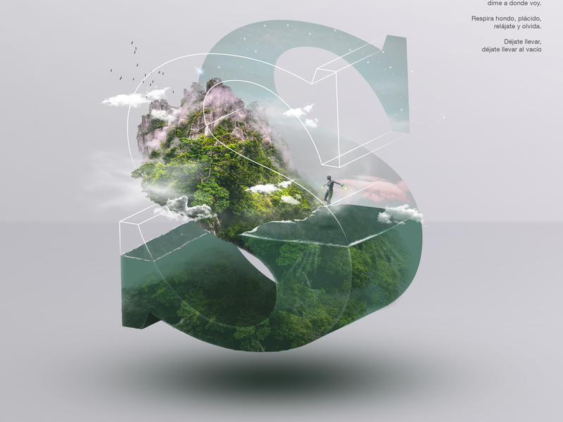 S creative design photoshop template composition adobe adobe creative cloud art collective adobe photoshop letters 36 days of type challenge letter form photoshop art photoshop letters with purpose design direction creative art