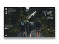 Hero Travel | Landing Page