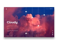 Cloudy | Landing Page