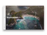 Nomader | Landing Page