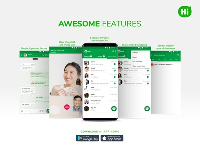 Awesome Features Hi App