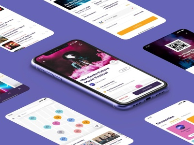 London Events App UI Kit