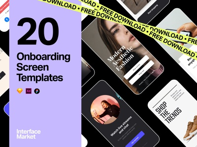 Mobile App Onboarding Screens Design app concept app ui app template onboarding illustration onboarding screen onboarding ui mobile app ui design sketchapp adobe xd figma ui design ui ux design ui kit 设计 应用 应用界面