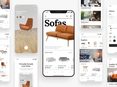 Stockholm AR Shopping App UI Kit
