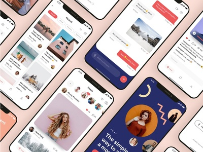 Miami Social App UI Kit