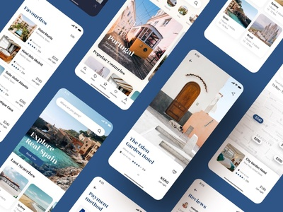 Athens Hotel Booking App UI Kit