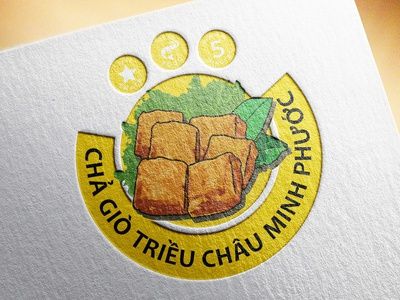 Logo Cha Gio branding logo design