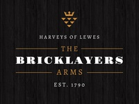 The Bricklayers Arms logo