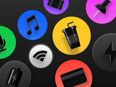 Anicons update! 🤩 wifi debitcard suitcase spark anicons ui beverage icon figmadesign 3d illustration cinema4d octane 3d icon design illustration icons pack icons 3d