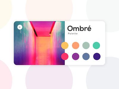 Color Picker web design colorful palette picker color picker color clean minimal ux dailyui100 daily100 dailyui