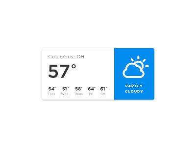 Weather temp columbus forecast weather app weather 037 dailyui100 daily100 dailyui