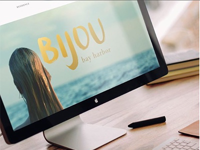 Teaser Website | Bijou Bay Harbor ocean tropical realestatebranding realestate interactive responsive digital webdevelopment websitedevelopment websitedesign webdesign website