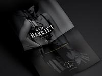 Bad Harriet // printed ad